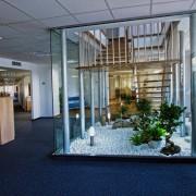 Дървени стълби - бамбук, инокс, темперирано стъкло