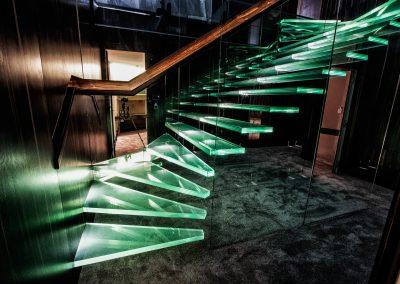 стъклена-стълба